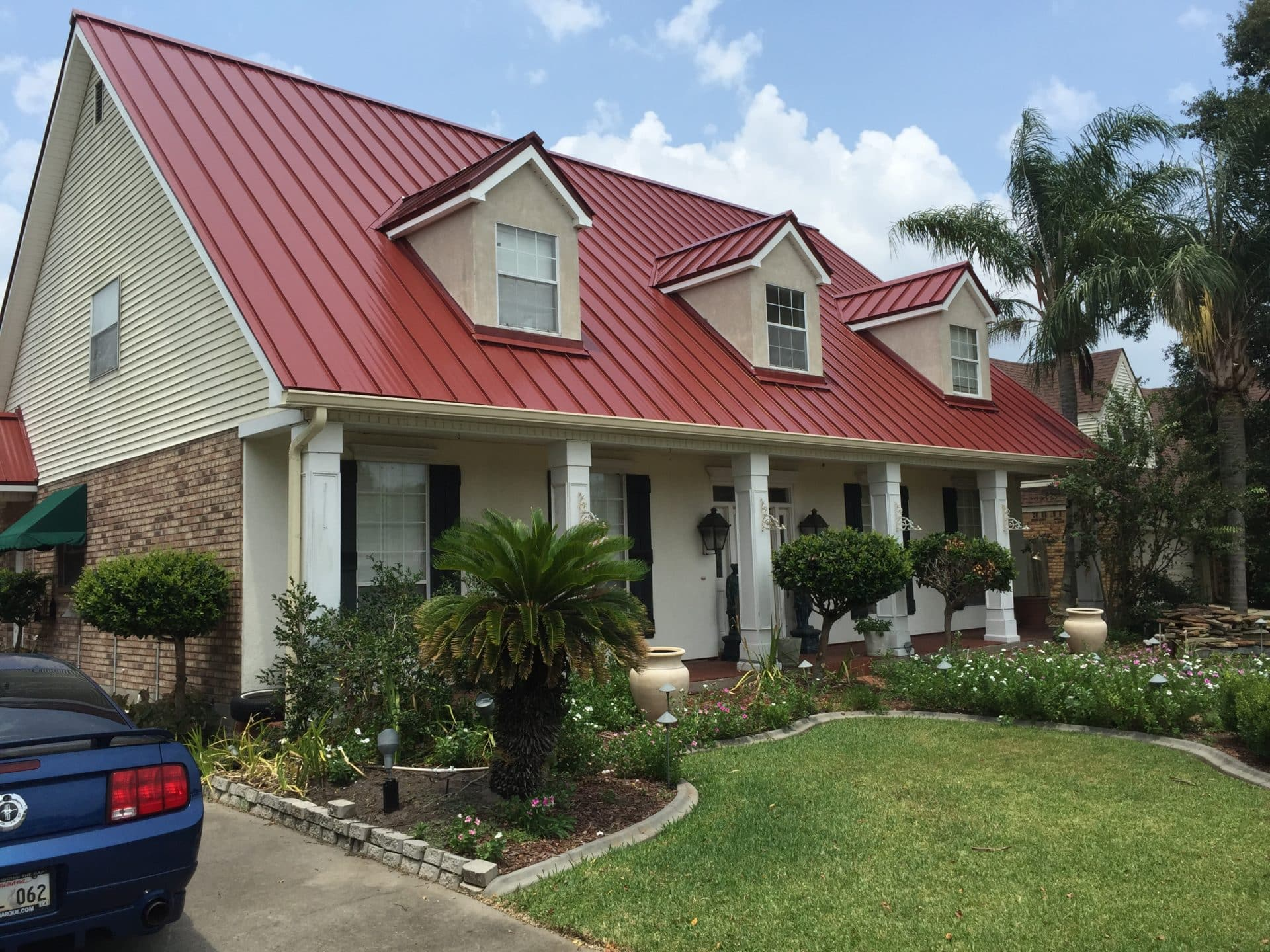 Standing Seam Metal Roofing in Louisiana