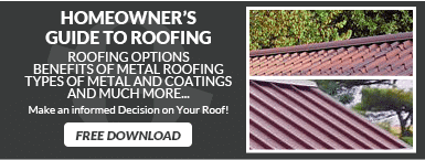 Homeowners guide to metal roofing